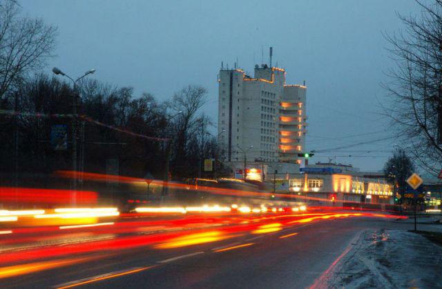 Улица Октябрьской Революции. Ну чем не столица?