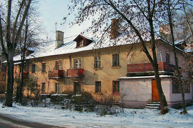 Один из ветхих домов Щелково