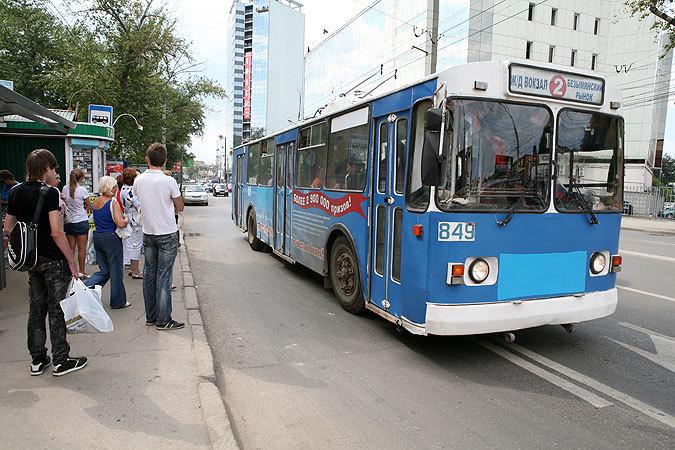 Самарский троллейбус