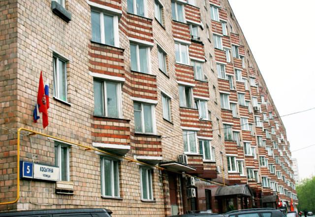 Улица Косыгина в Гагаринском районе ЮЗАО