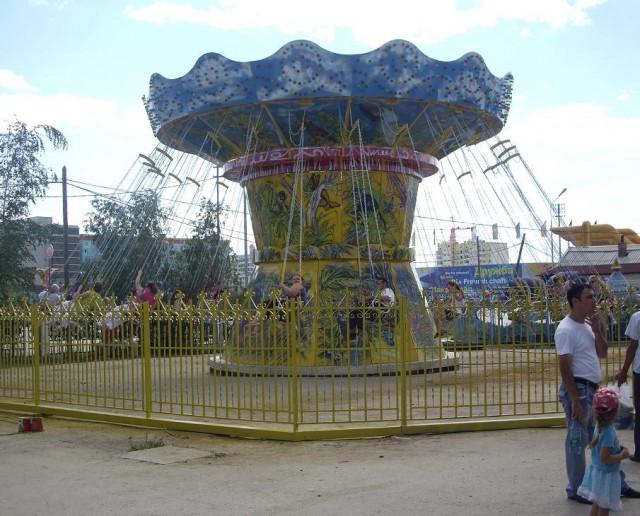 Парк культуры и отдыха является единственным парком в Якутске