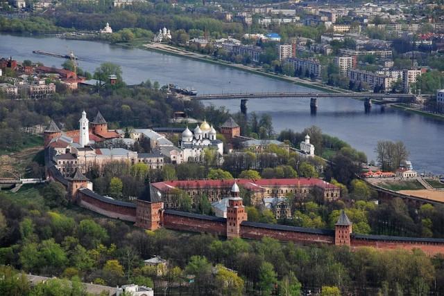 Великий Новгород с высоты