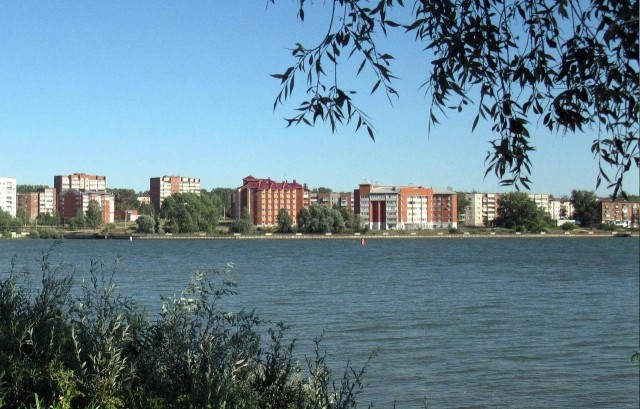 Воткинск. Вид с пруда