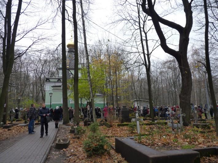Часовня Ксении Блаженной на Смоленском кладбище