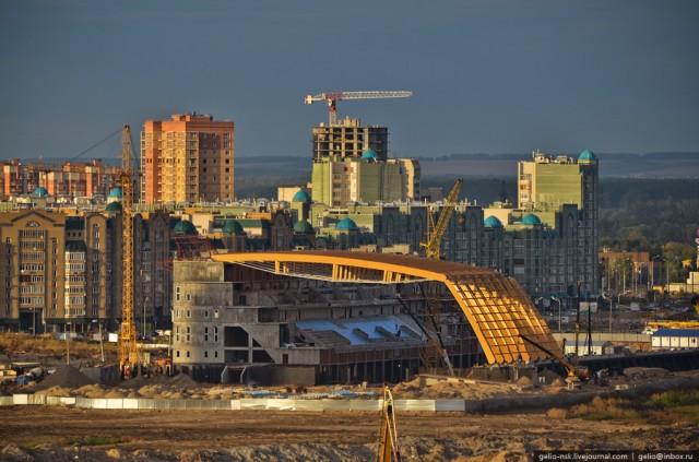 Строительство Дворца водных видов спорта