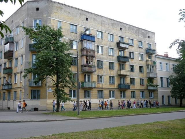 Сталинки в Кронштадте