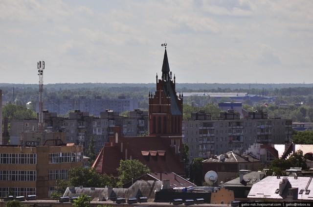 Здание католического костела Святого Семейства