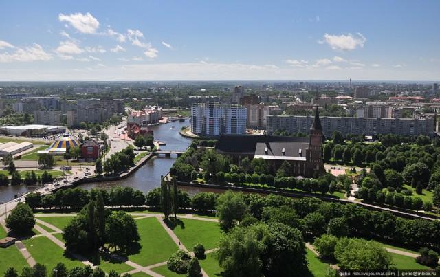 Фото с крыши Дома Советов