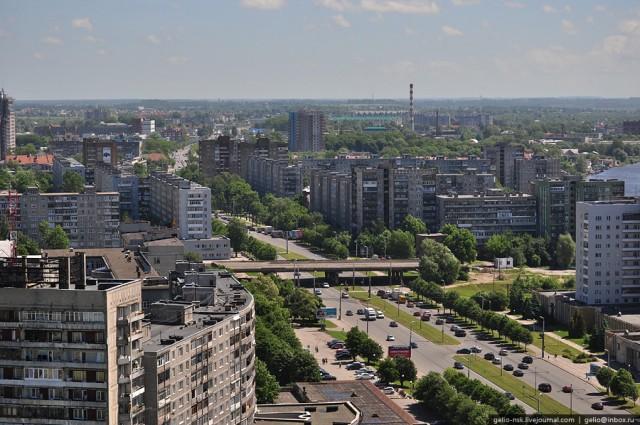 Московский проспект. Вид на восток