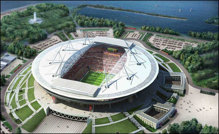 Проект стадиона на Крестовском