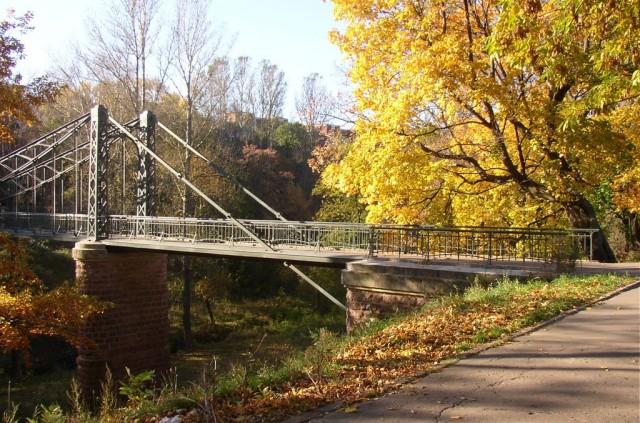 Пеньковый подвесной мост