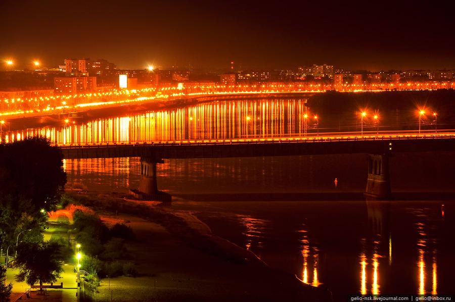 Ленинградский мост и Иртышская набережная