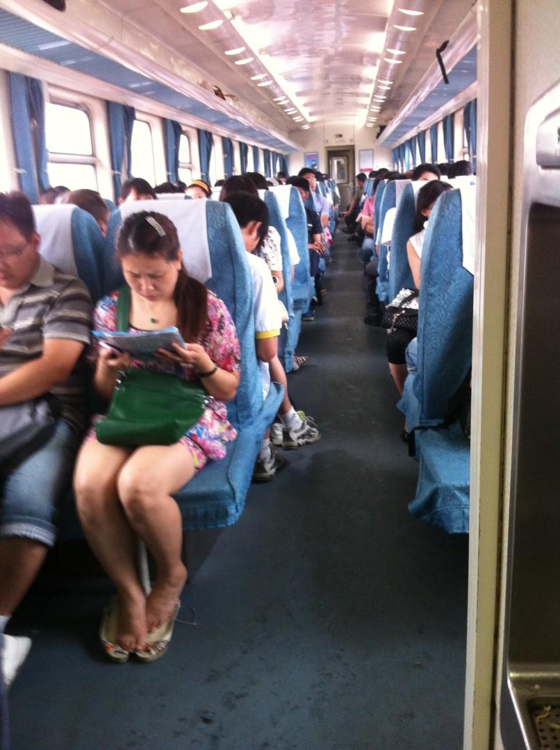 ножки в транспорте фото