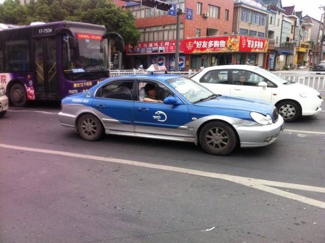 Китай. Такси