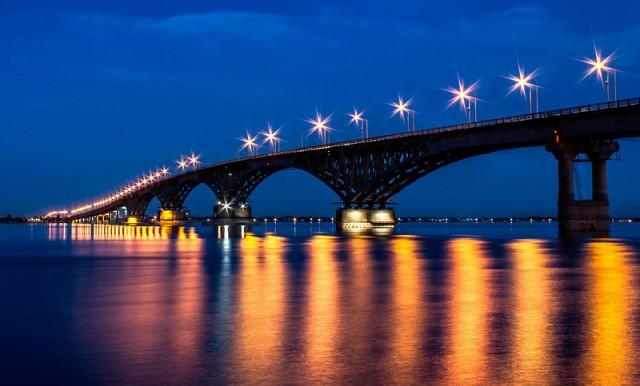 Мост Саратов-Энгельс