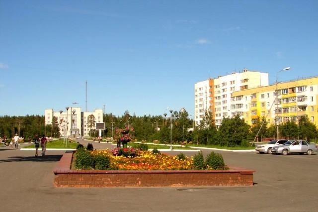 Цетральная Аллея Ноябрьска