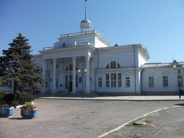 ЖД вокзал Ейска