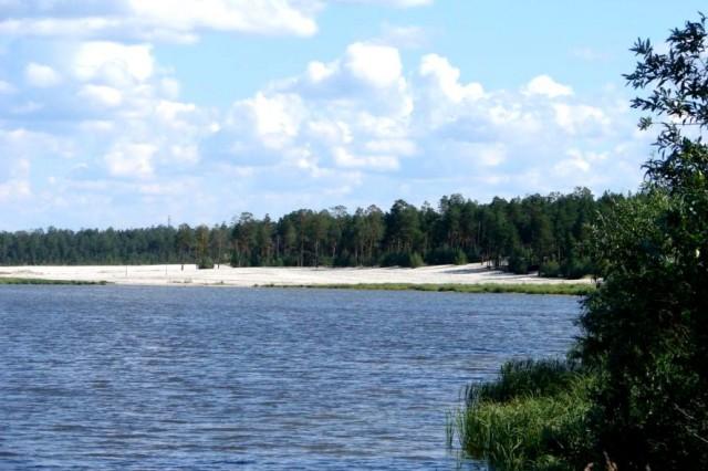 Берег озера Ханто Ноябрьск