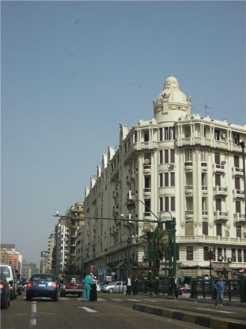 На одной из Каирских улиц