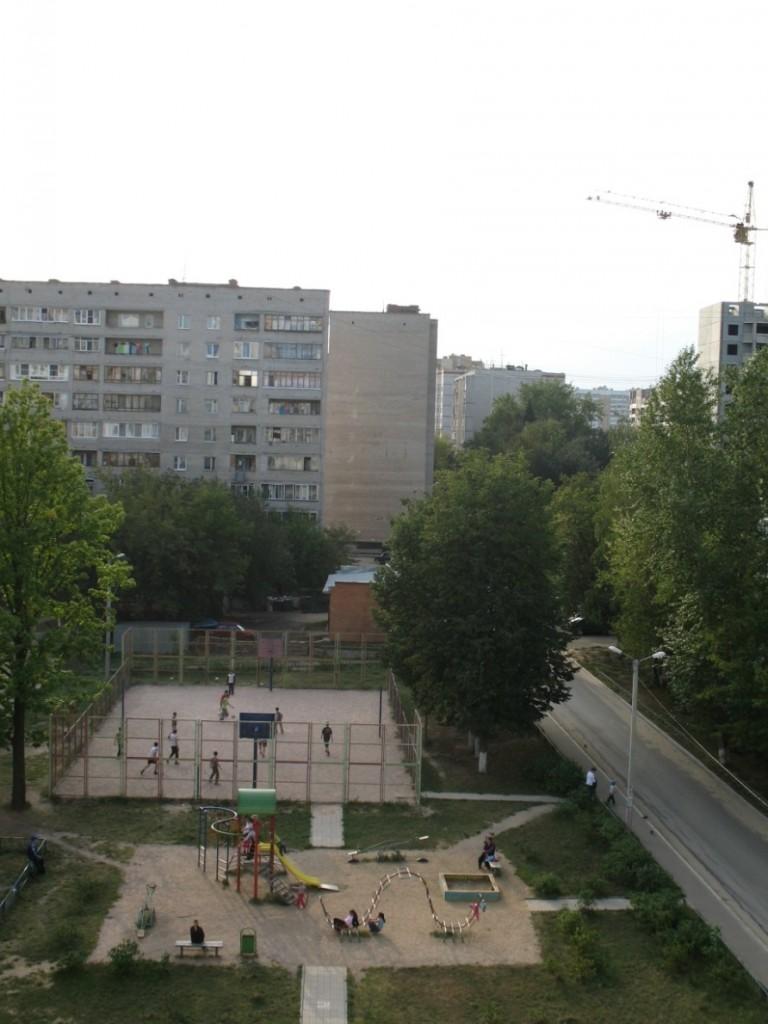 Вид из окна съемной квартиры