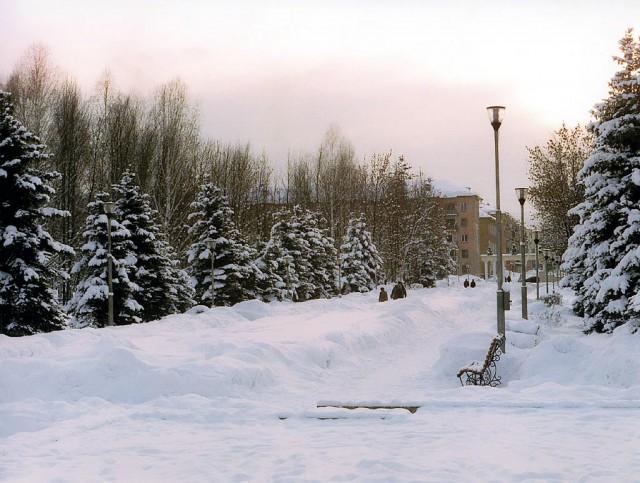 Междуреченск зимой