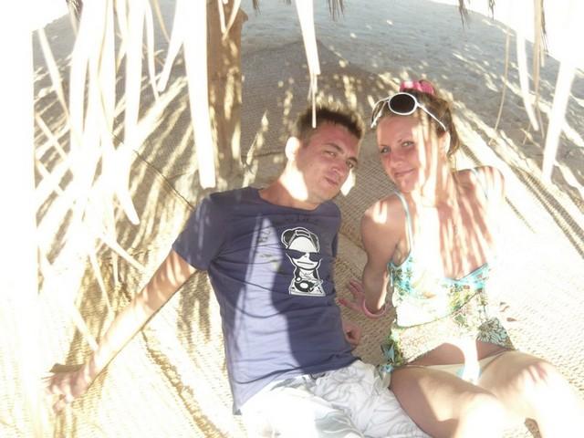 После 18 лет в Краснодарском крае отдыхать я езжу только заграницу (на фотографии мы со Стасом)