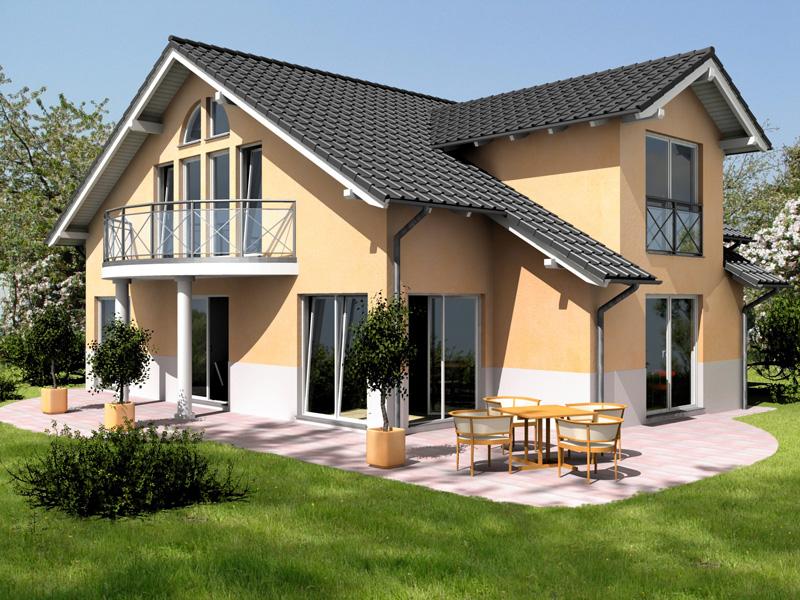 Типичный немецкий домик