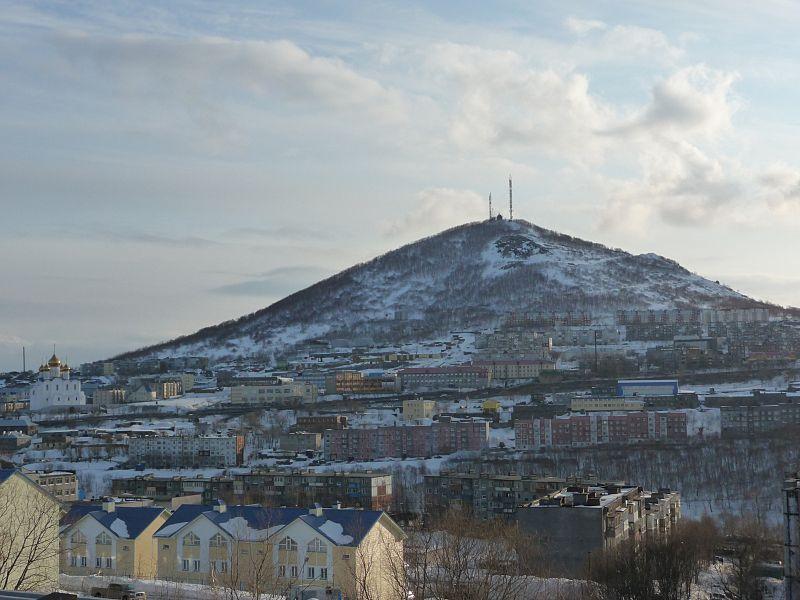 Вид Петропавловска-Камчатского