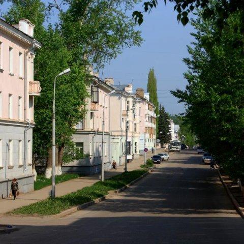 Октябрьский. Центр