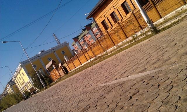 Якутск. Старый город. Торгово-пешеходный район
