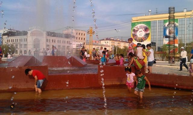 Центр города. Площадь Ленина.