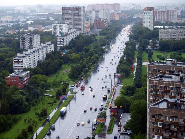 Щелковское шоссе