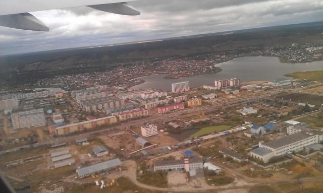 Якутск. Вид с самолета