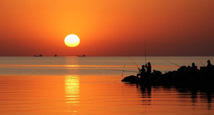Ейские рыбаки