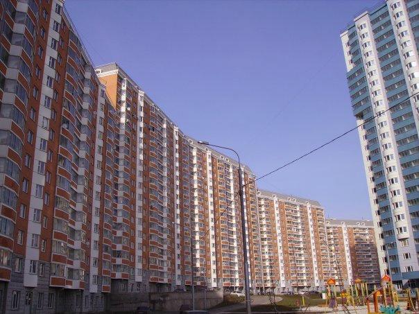 Микрорайон Кожухово, дома постройки 2006 года