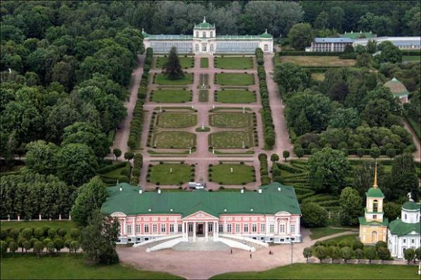 Панорама усадьбы «Кусково»