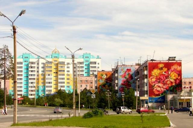 Улица Ленина Ноябрьск