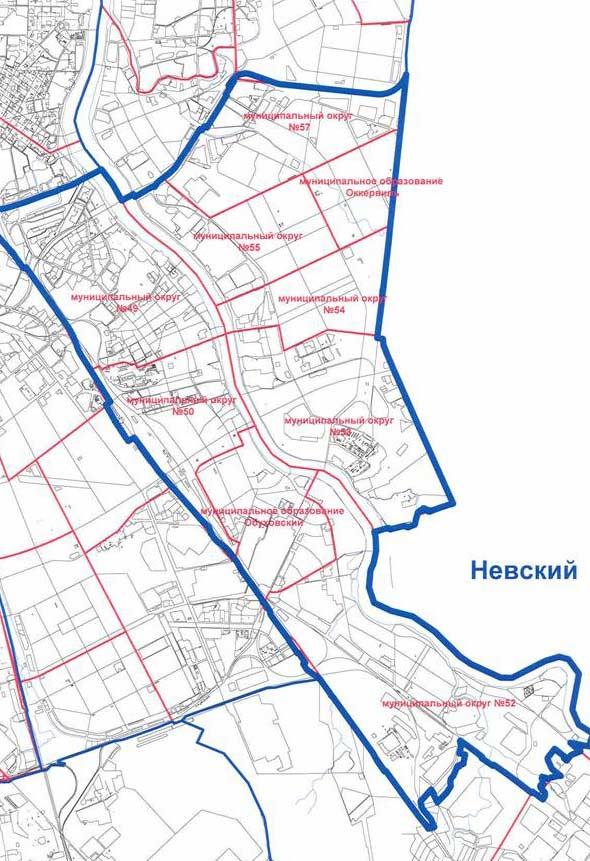 карта муниципальных образований