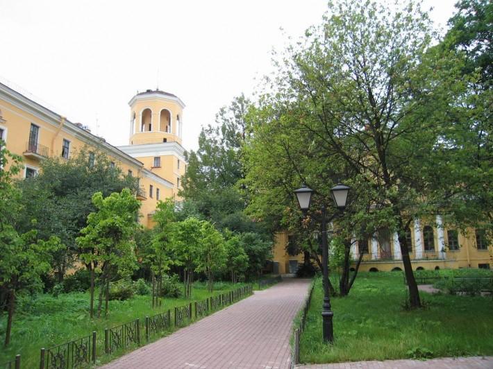 Сквер на Стачек