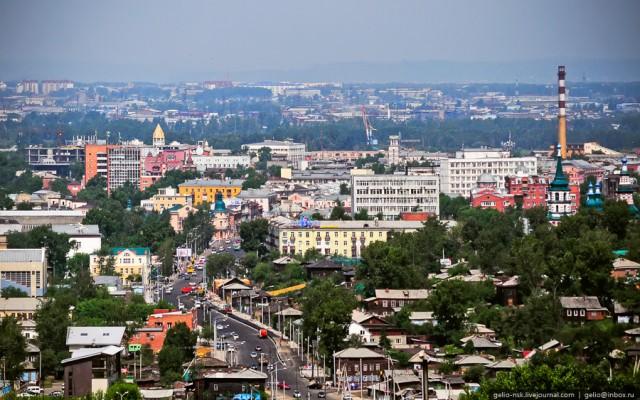 Ул. Ленина. Центр города