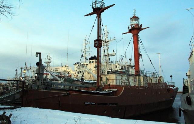 гавань Ломоносова, корабли