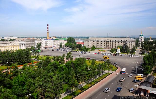 Главная площадь Иркутска - площадь Кирова