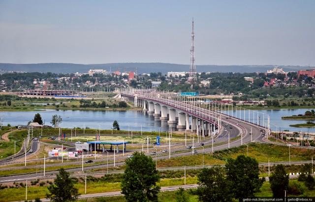 Новый Ангарский мост