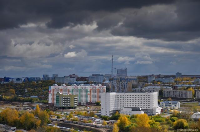 Вид в сторону Ленинского района