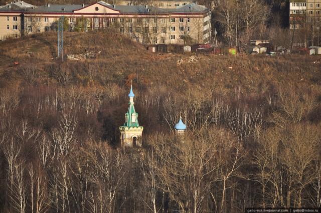 Церковь успения божьей матери на территории Егошихинского кладбища