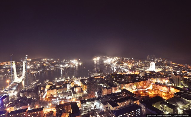 Центральная часть Владивостока
