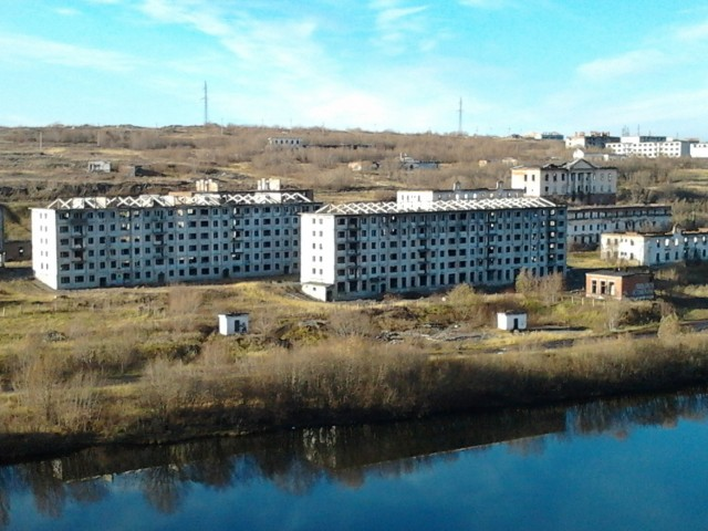 Закрытый посёлок Рудник