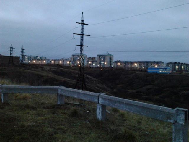 Вид с Тимана на улицу Чернова