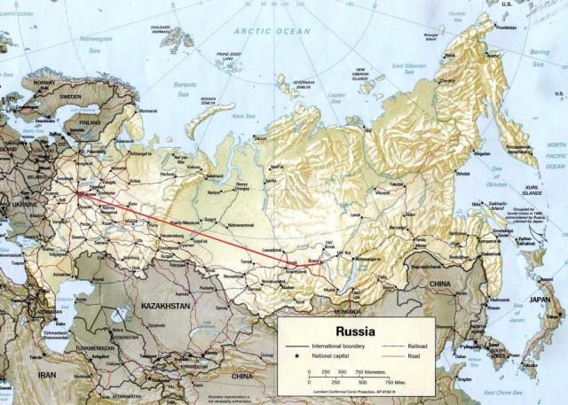 Мой путь в России