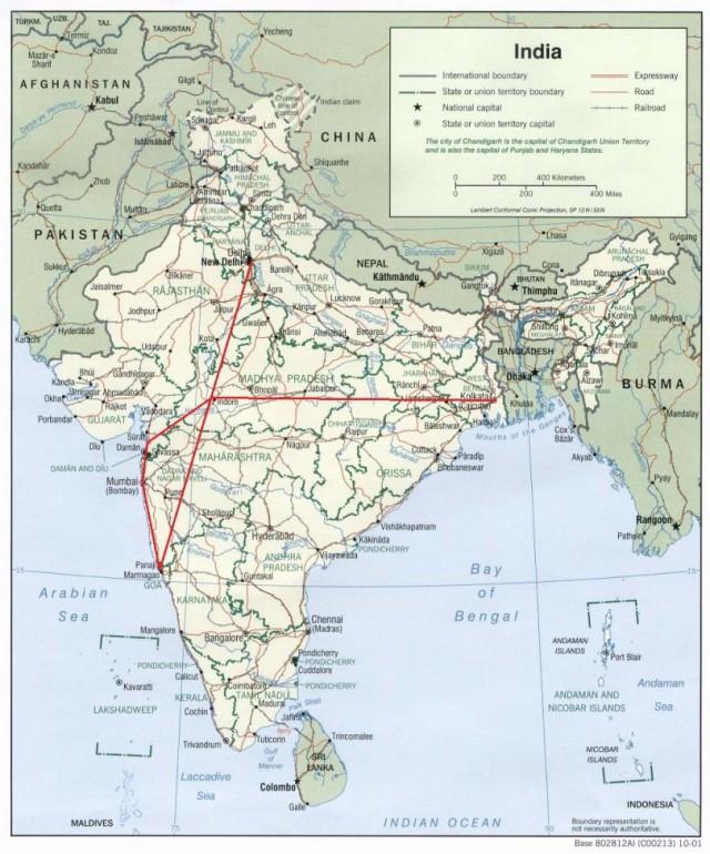 Мой путь в Индии
